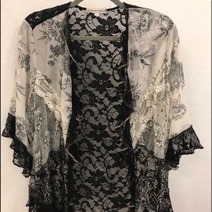 Spencer Alexis Lace Jacket XL NWT